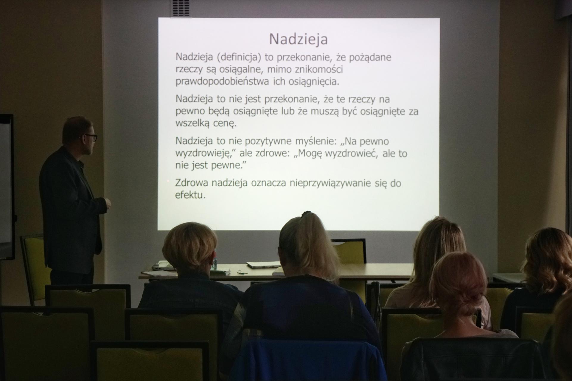 "Seminarium Pt. ""Terapia I Praktyka W Psychoonkologii"""